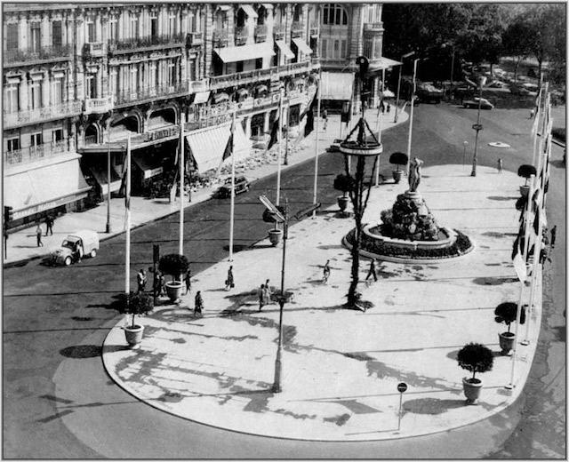 Montpellier - Place de la Comédie - 1961