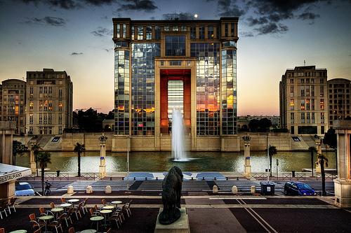 Montpellier hôtel région
